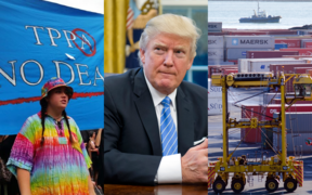 US President Donald Trump has formally withdrawn his country from the Trans-Pacific Partnership.
