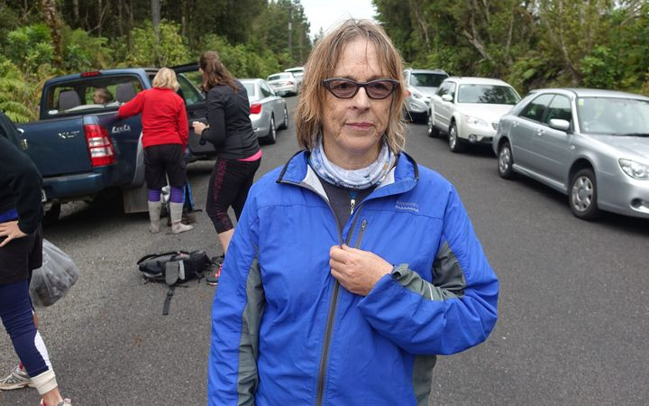 New Plymouth woman Rosemary Hutchins says the hype about the Pouakai Crossing has got ahead of the reality.