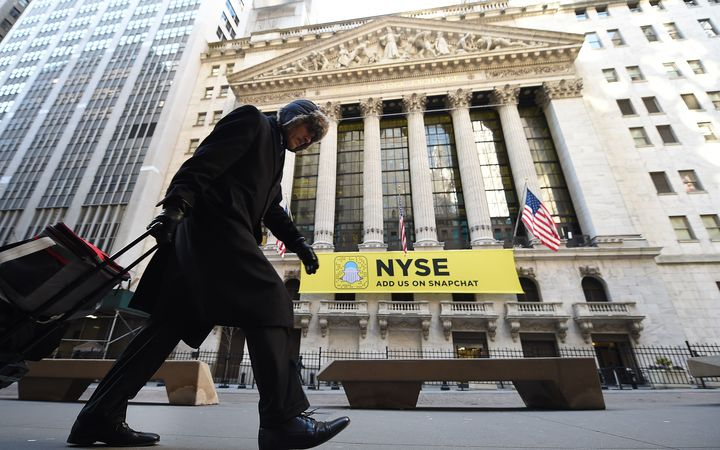 Dow Jones industrial average trades above 20000 points for first time