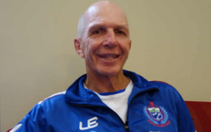 Samoa sevens coach Sir Gordon Tietjens.