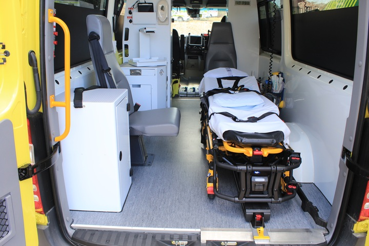 New ambulances for the obese