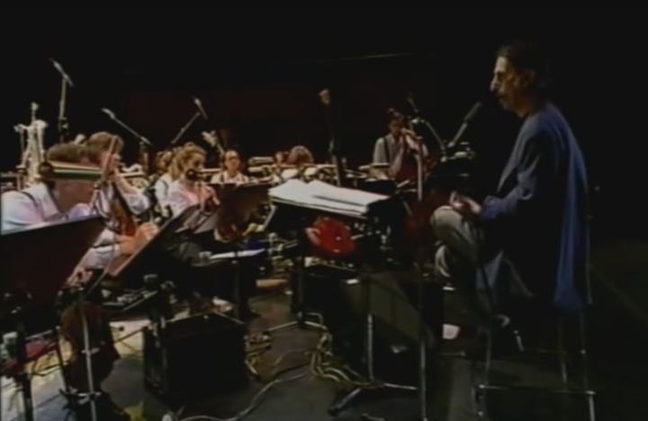 Frank Zappa with the Ensemble Modern