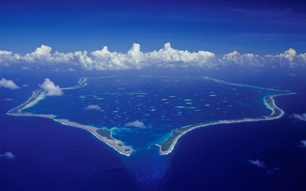 Penrhyn in the Cook Islands