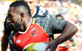 Wesley Vali is one of three PNG players with previous World Sevens Series experience.