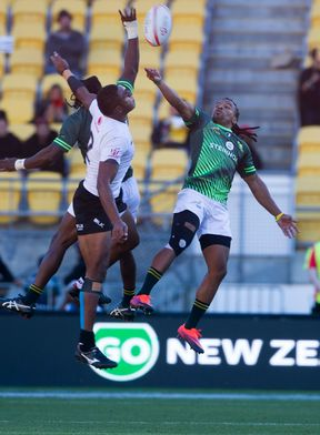 Fiji could not catch South Africa in their Pool B decider in Wellington.