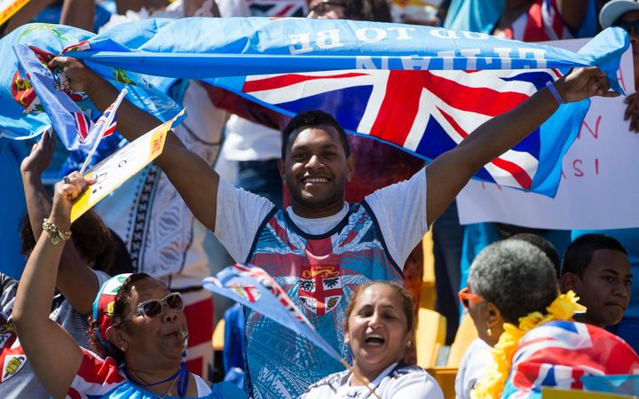 Fiji fans were out in force at the Wellington Sevens, despite a sparse attendance overall.
