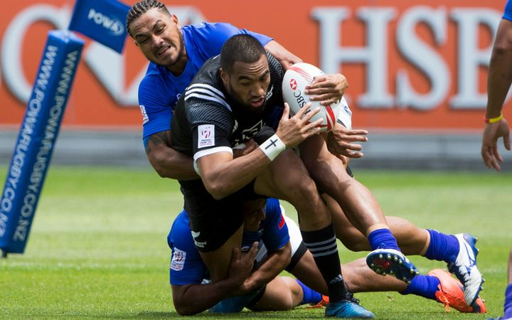Samoa were no match for New Zealand in pool play.