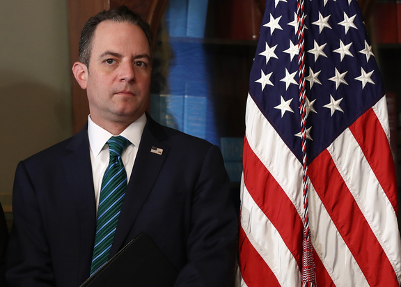 Donald Trump replaces White House chief of staff Reince Priebus