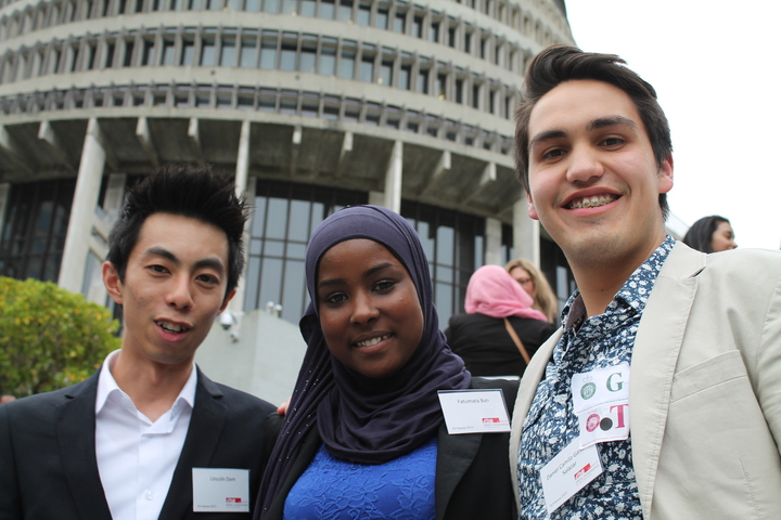 Young Ethnic Leaders, Lincoln Tan, Fatumata Bah and Daniel Gamboa
