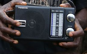 Many remote communities in Pacific island countries rely on shortwave radio