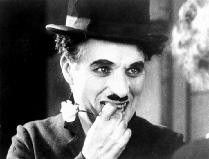 Chaplin's Tramp is finally seen by the Flower Girl at the end of City Lights.