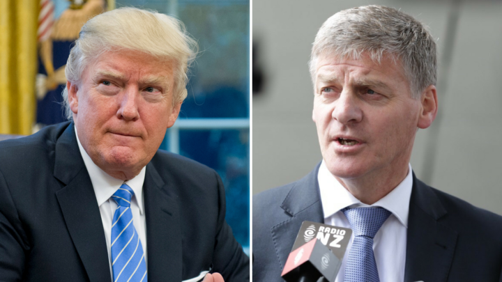 Donald Trump and Bill English