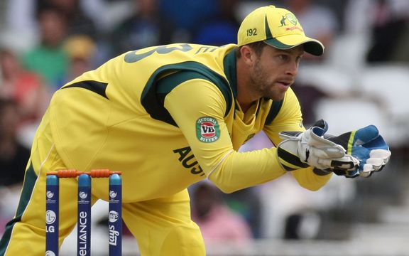 El portero de Australia Matthew Wade