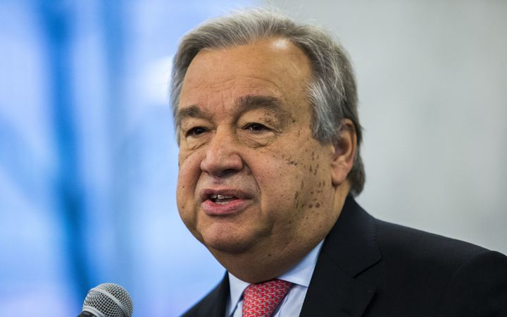 United Nations secretary general Guterres in veiled attack of Trump immigrant ban