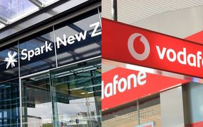New Zealand's largest two telecommunications companies are too big to be threatened by their competitors.