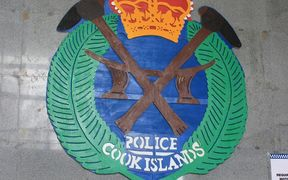 Cook Islands police insignia.