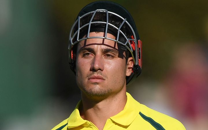 After scoring 146 in game one, Marcus Stoinis couldn't repeat the feat.
