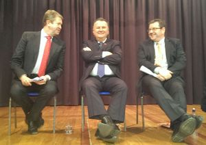 The three contenders for the Labour leadership.