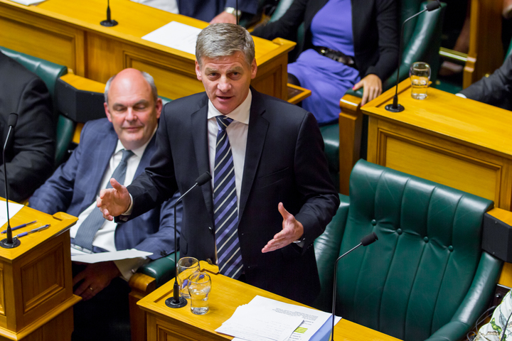 Prime Minister Bill English outlines his agenda for the year and asks for the House to express confidence in the government.