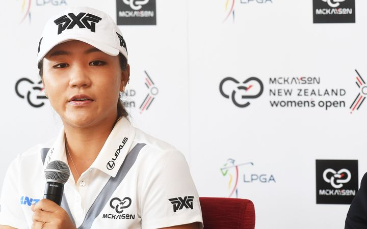 Lydia Ko talks about her recent changes in her game at today's press conference in Auckland.