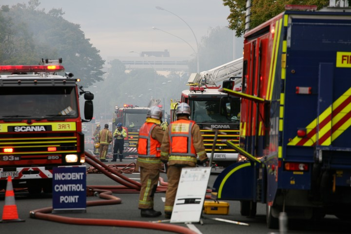 It took 12 fire crews from around the Rotorua district to bring the fire under control.