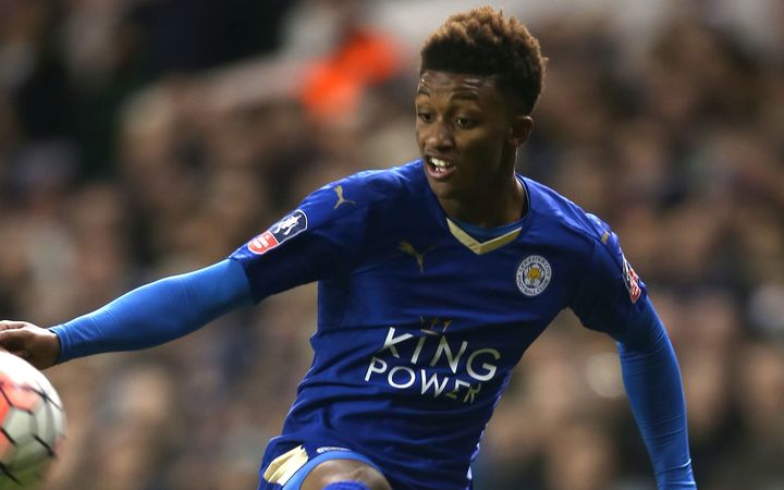 Leicester City's Demarai Gray.