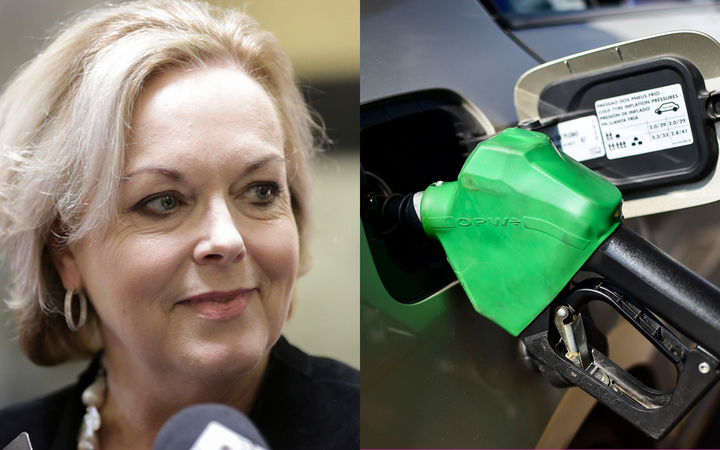 Judith Collins has called for an investigation into how fair petrol and diesel prices are at the pump.