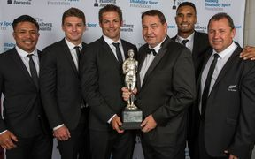 The All Blacks won the Supreme Halberg Award last year but aren't among the finalists in the team category this year despite a record breaking run.
