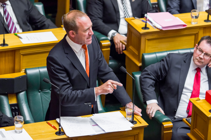 Labour Party leader Andrew Little debates the Prime Minister's statement.