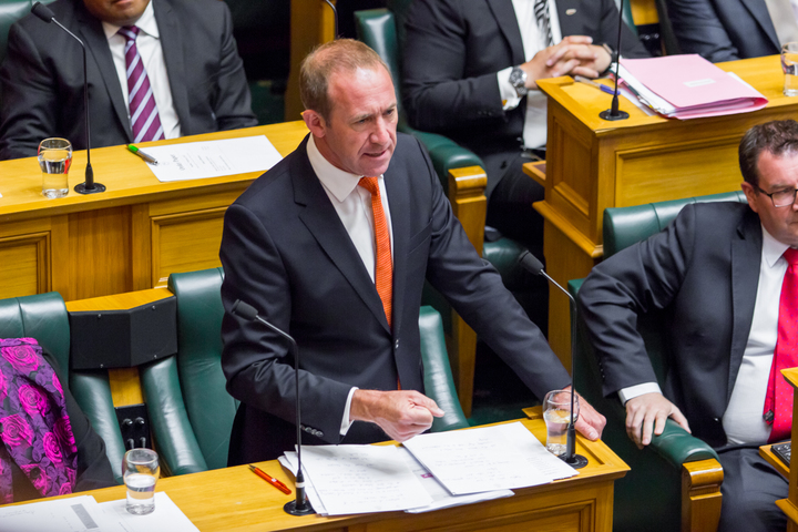 Labour Party leader Andrew Little outlines his party's issues for the election year.