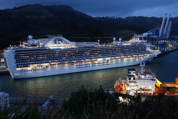 The explosion happened onboard the Emerald Princess.