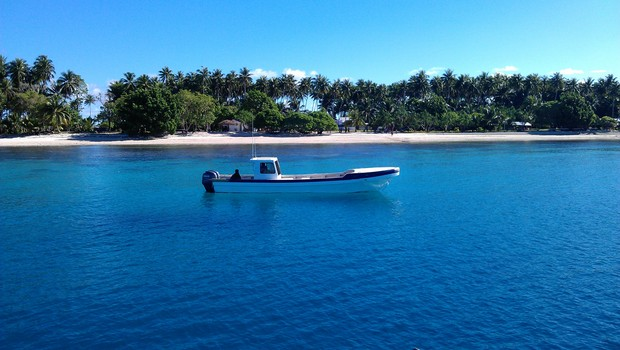 Enoka Island, chosen for the Pacific Islands Forum leaders' retreat..