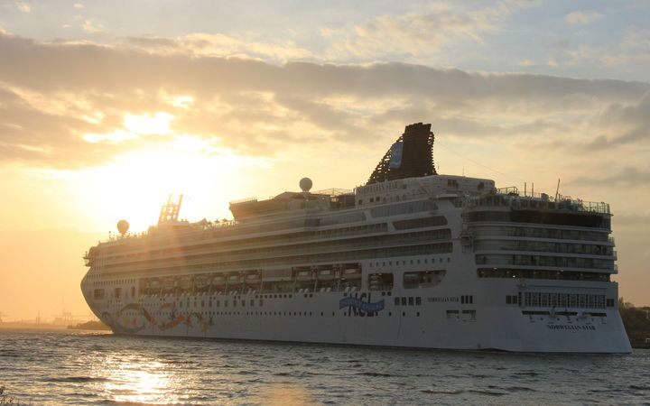 The Norwegian Star cruise ship