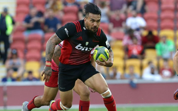 Crusaders new recruit Digby Ioane.