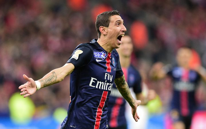 PSG winger Angel Di Maria.