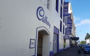 The Cadbury factory in central Dunedin.