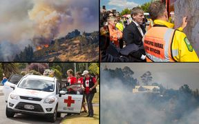 Day four of the fight against the Port Hills fire has been a relatively good one for the Fire Service.