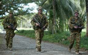The Australian-led Regional Assistance Mission was deployed to Solomon Islands in 2003.
