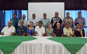 Samoa Media Council members and consultants