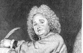 Jean-Féry Rebel, engraving by Jean Moyreau after Watteau