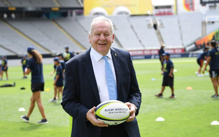 World Rugby chair Sir Bill Beaumont.