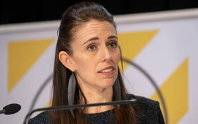 Prime Minister Jacinda Ardern and Director-General of Health Ashley Bloomfield at a media briefing at Parliament about the Covid-19 coronavirus.
