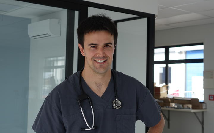 Hawke's Bay Hospital ED Consultant Dr Andrew Germann.