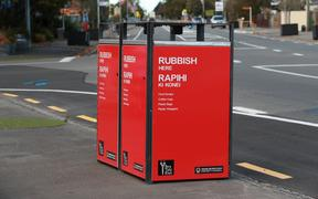 "Two lots of ""smart"" rubbish bins in Renwick"