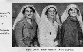 NZ nurses Spanish Civil War