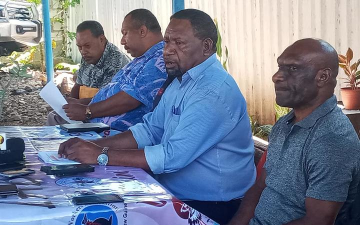Clement Kanau from PNG's Trade Union Congress