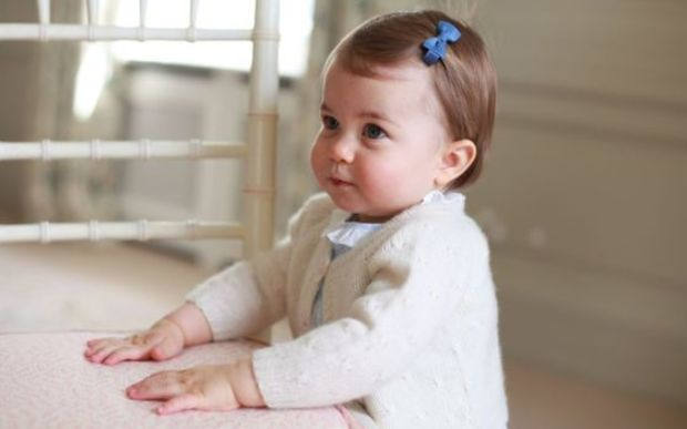 New photographs of Princess Charlotte have been released to mark her first birthday.
