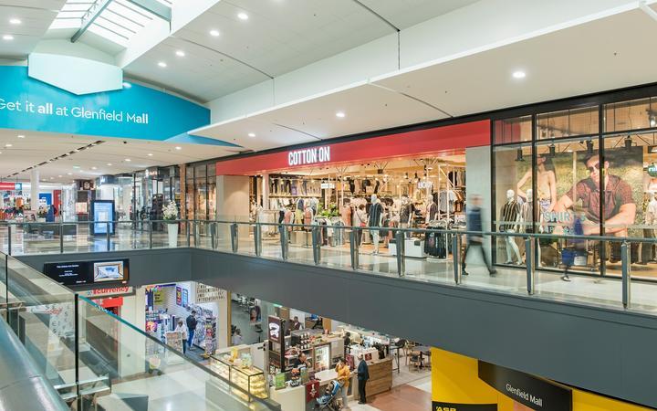 Glenfield Mall.