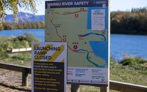 One of the new signs put down last summer in a bid to educate water users.