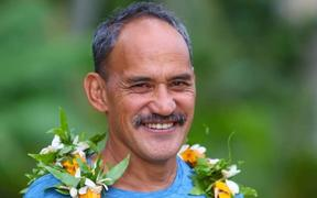 The Cook Islands Minister for Sport, Mac Mokoroa.